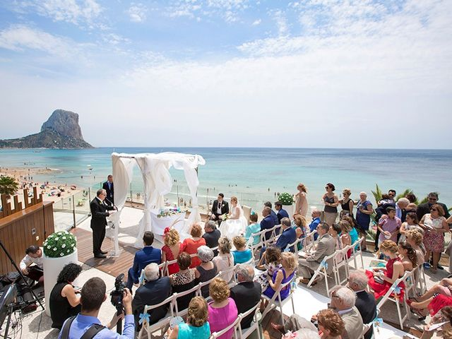 La boda de Vicente y Miriam en Calp/calpe, Alicante 5