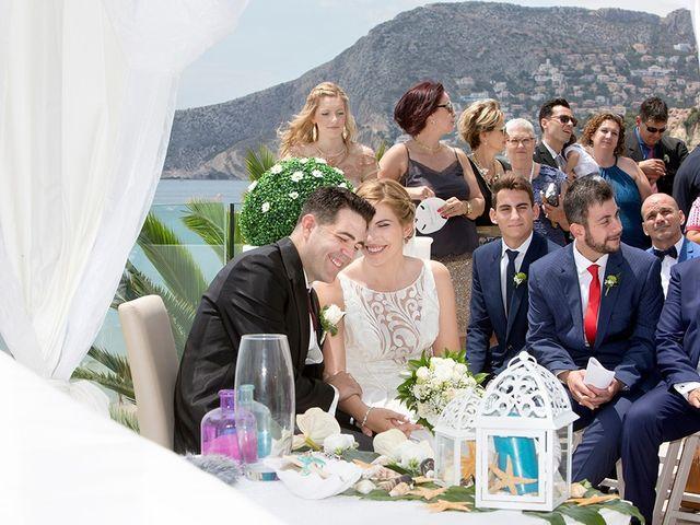 La boda de Vicente y Miriam en Calp/calpe, Alicante 14