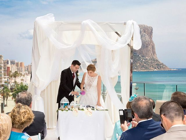 La boda de Vicente y Miriam en Calp/calpe, Alicante 15