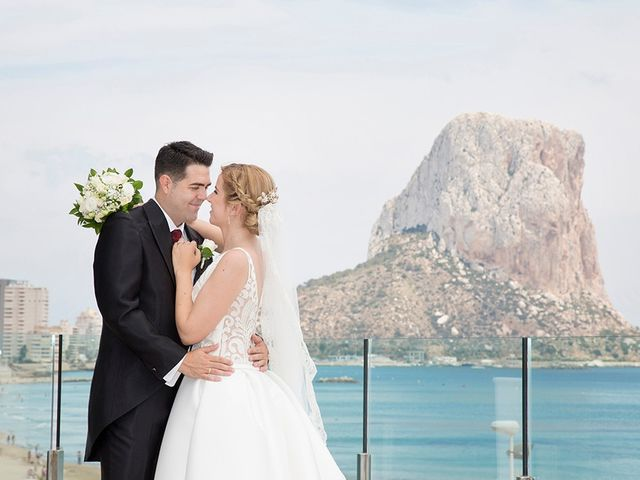 La boda de Vicente y Miriam en Calp/calpe, Alicante 17