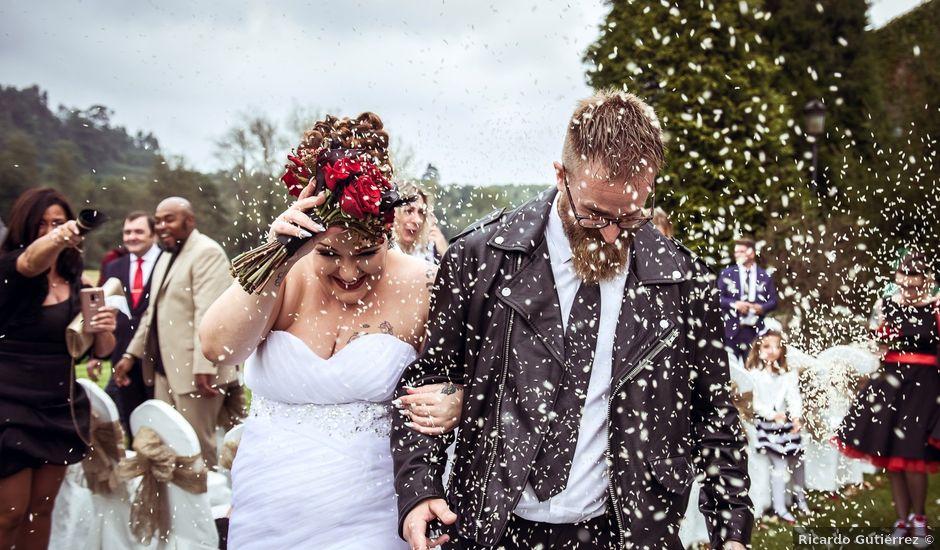 La boda de David y Lorena en Caranceja, Cantabria