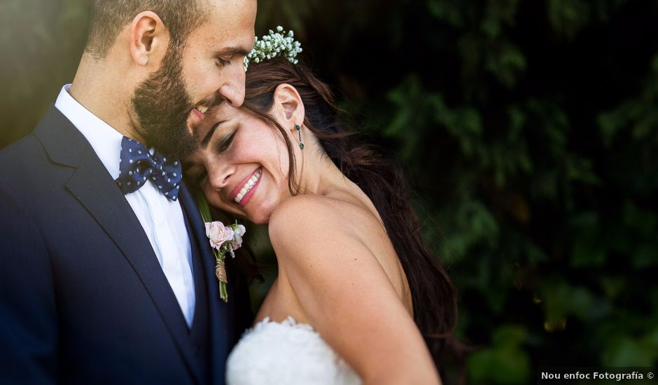 La boda de Iván y Cintia en Sant Cugat Sesgarrigues, Barcelona