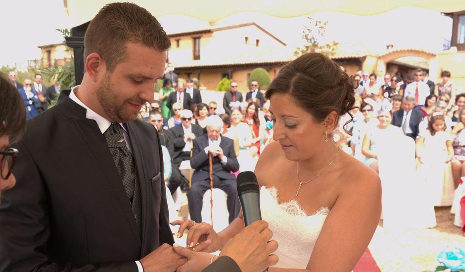 La boda de Alberto y Canty en Tiedra, Valladolid