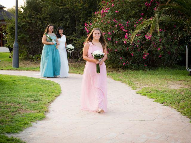 La boda de Miguel y Pilar en L' Ametlla De Mar, Tarragona 18