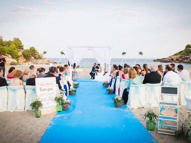 La boda de Miguel y Pilar en L' Ametlla De Mar, Tarragona 21