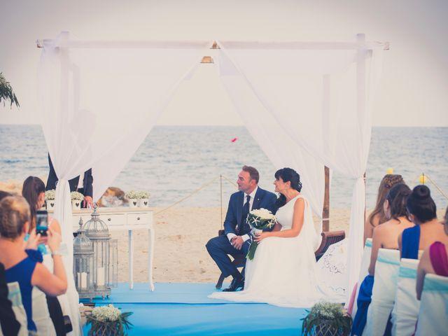 La boda de Miguel y Pilar en L' Ametlla De Mar, Tarragona 22