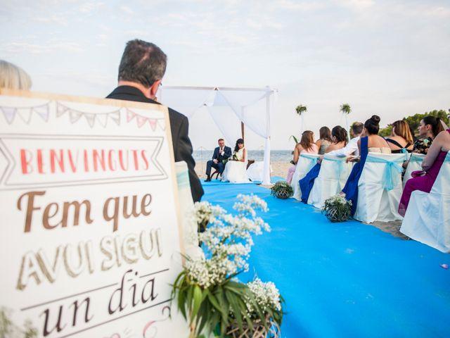 La boda de Miguel y Pilar en L' Ametlla De Mar, Tarragona 23