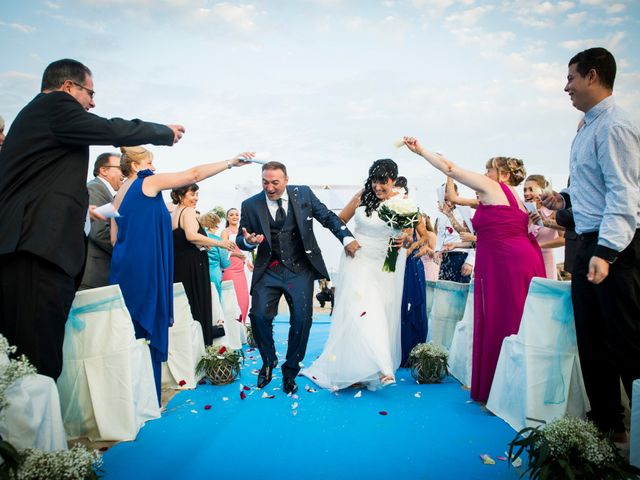 La boda de Miguel y Pilar en L' Ametlla De Mar, Tarragona 24