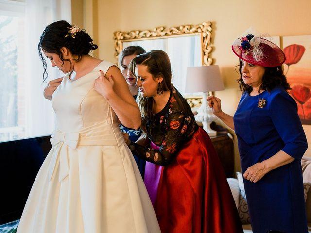 La boda de Alejandro y Raquel en Olmedo, Valladolid 21