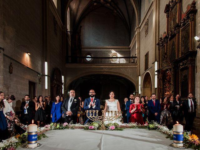 La boda de Alejandro y Raquel en Olmedo, Valladolid 43