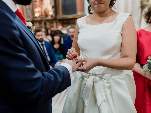La boda de Alejandro y Raquel en Olmedo, Valladolid 46