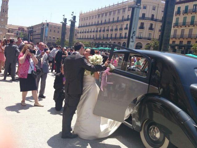 La boda de Juan y Belén  en Zaragoza, Zaragoza 2