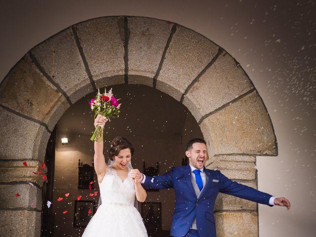 La boda de Sergio y Jessi en Montehermoso, Cáceres 21