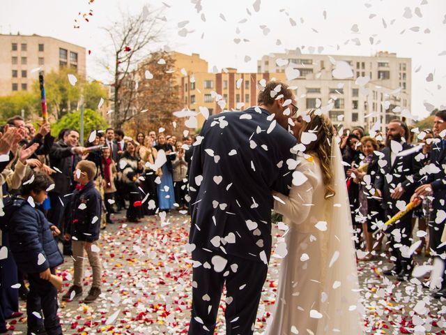 La boda de Adrián y María en León, León 22