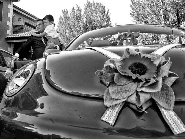 La boda de Ángel Luis y Inma en Malacuera, Guadalajara 14