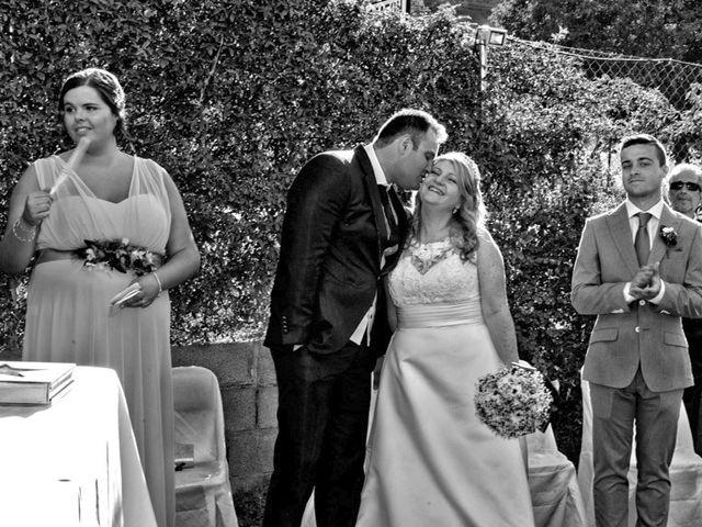 La boda de Ángel Luis y Inma en Malacuera, Guadalajara 16