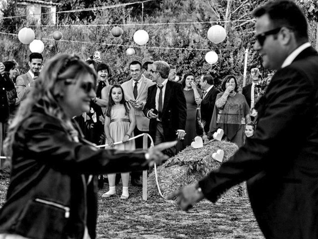 La boda de Ángel Luis y Inma en Malacuera, Guadalajara 36