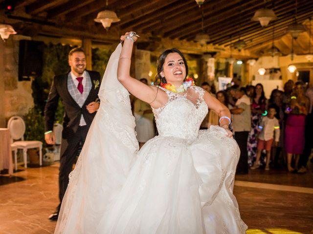 La boda de Dani y Miriam en Sotos De Sepulveda, Segovia 81