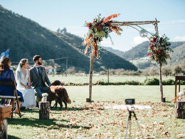 La boda de Miguel y Cynthia en Grado, Asturias 89