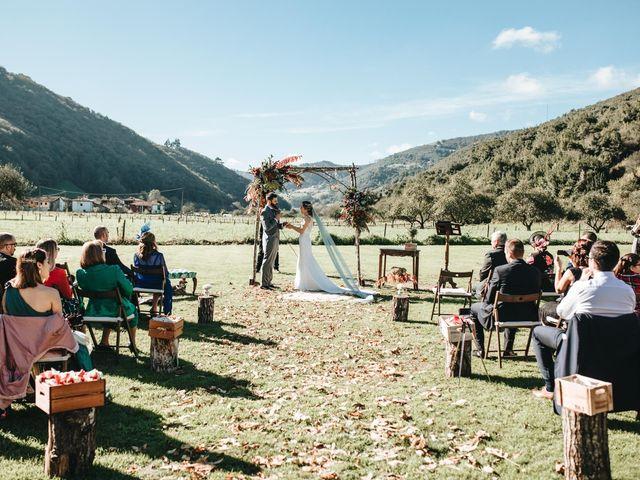 La boda de Miguel y Cynthia en Grado, Asturias 98