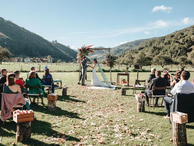 La boda de Miguel y Cynthia en Grado, Asturias 99