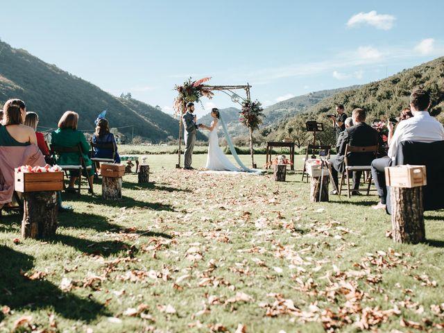La boda de Miguel y Cynthia en Grado, Asturias 100