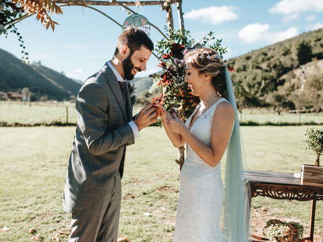 La boda de Miguel y Cynthia en Grado, Asturias 105