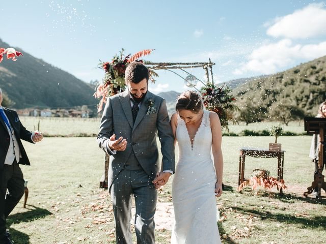 La boda de Miguel y Cynthia en Grado, Asturias 112