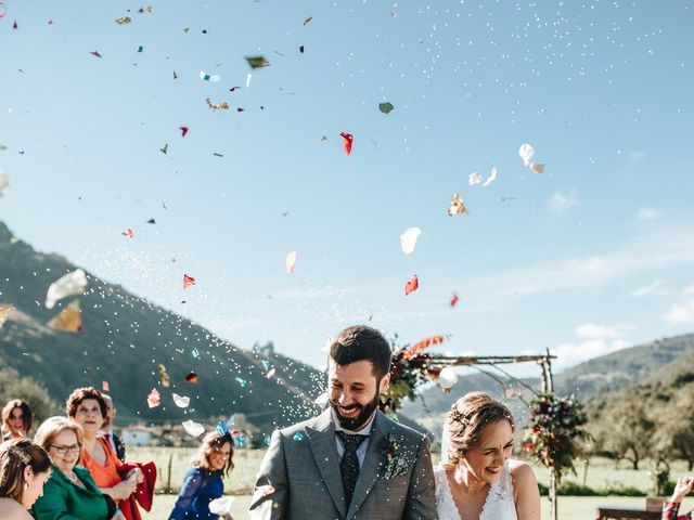 La boda de Miguel y Cynthia en Grado, Asturias 114