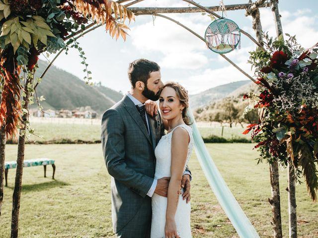 La boda de Miguel y Cynthia en Grado, Asturias 121