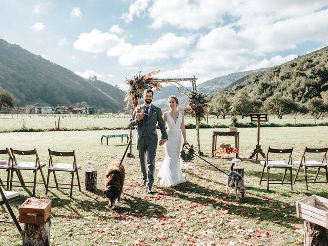 La boda de Miguel y Cynthia en Grado, Asturias 130