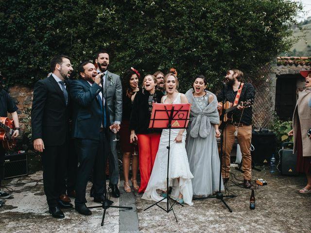 La boda de Miguel y Cynthia en Grado, Asturias 158