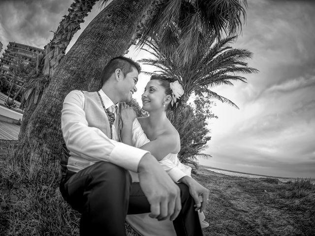 La boda de Adriana y José