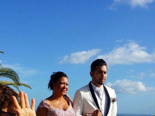 La boda de Jeanpierre  y Antonella  en San Sebastian Gomera, Santa Cruz de Tenerife 6