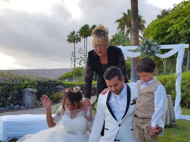 La boda de Jeanpierre  y Antonella  en San Sebastian Gomera, Santa Cruz de Tenerife 8