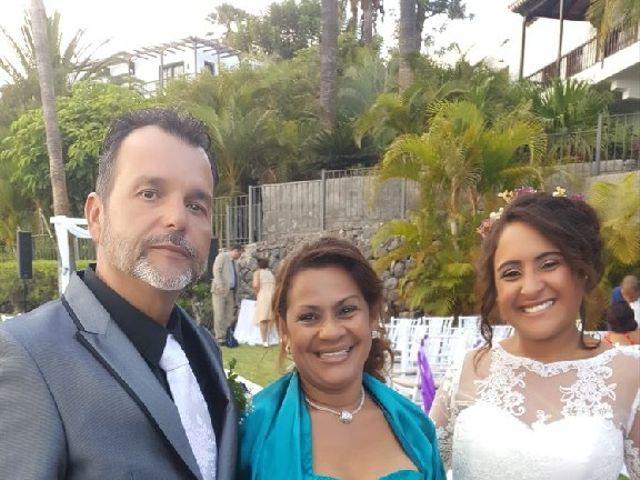 La boda de Jeanpierre  y Antonella  en San Sebastian Gomera, Santa Cruz de Tenerife 9