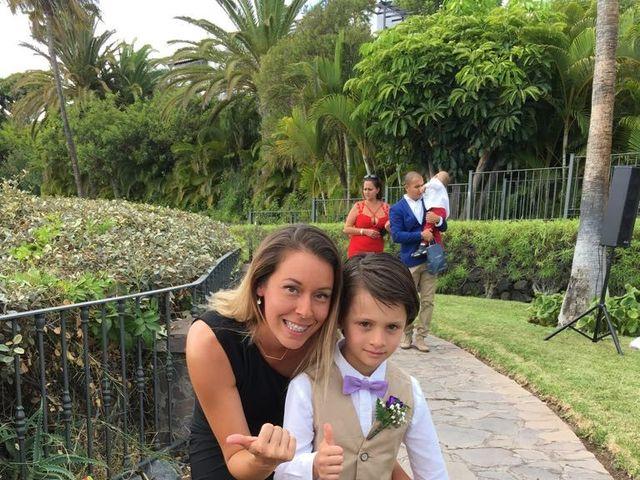 La boda de Jeanpierre  y Antonella  en San Sebastian Gomera, Santa Cruz de Tenerife 10