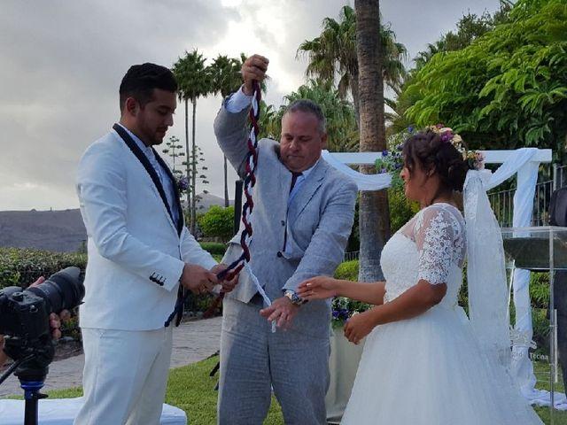 La boda de Jeanpierre  y Antonella  en San Sebastian Gomera, Santa Cruz de Tenerife 2