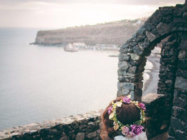 La boda de Jeanpierre  y Antonella  en San Sebastian Gomera, Santa Cruz de Tenerife 12