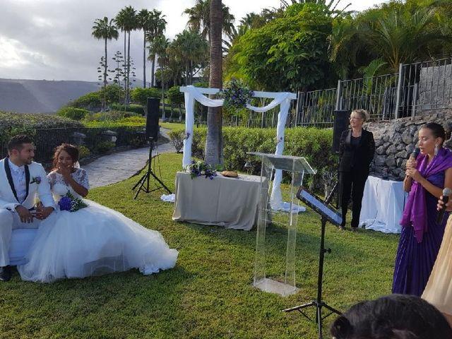 La boda de Jeanpierre  y Antonella  en San Sebastian Gomera, Santa Cruz de Tenerife 14