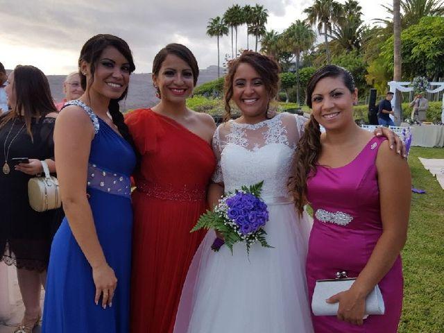 La boda de Jeanpierre  y Antonella  en San Sebastian Gomera, Santa Cruz de Tenerife 15