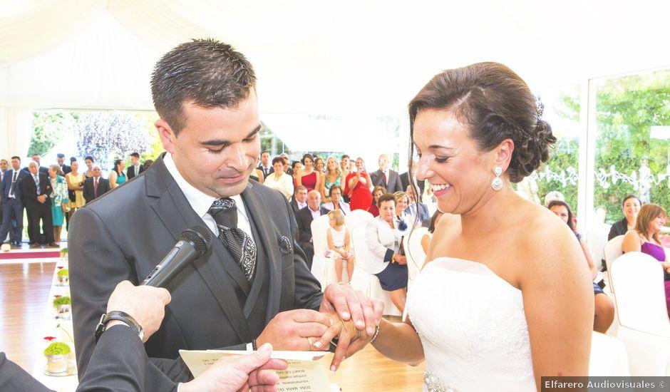 La boda de Bonet y Mary en Goiriz, Lugo