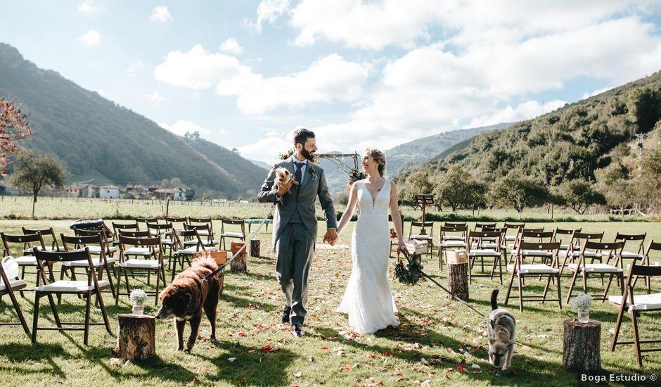 La boda de Miguel y Cynthia en Grado, Asturias