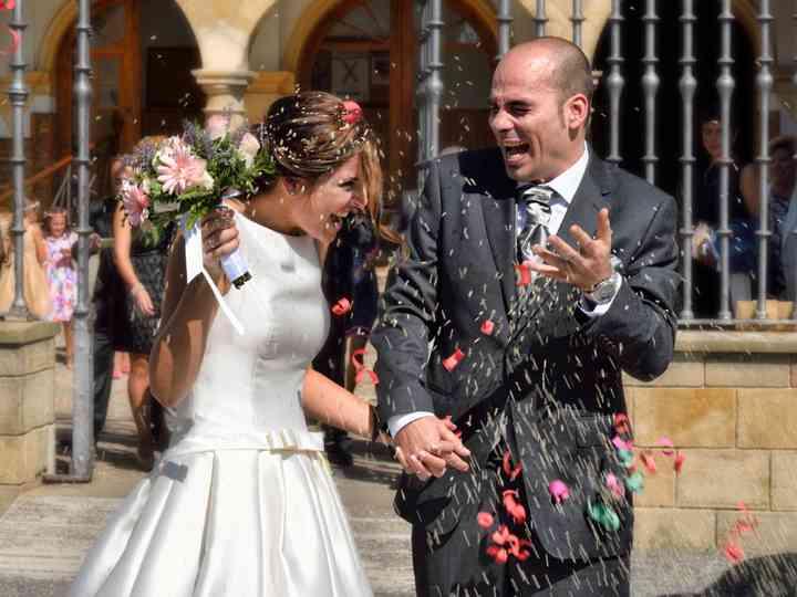 La boda de Maite y Javier
