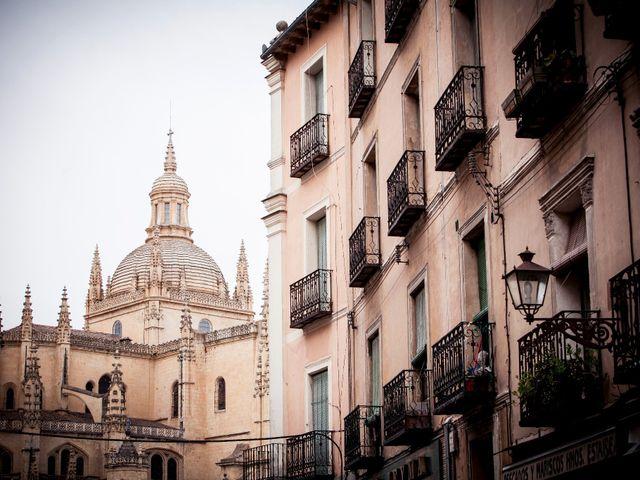 La boda de Eduardo y Claire en Segovia, Segovia 2
