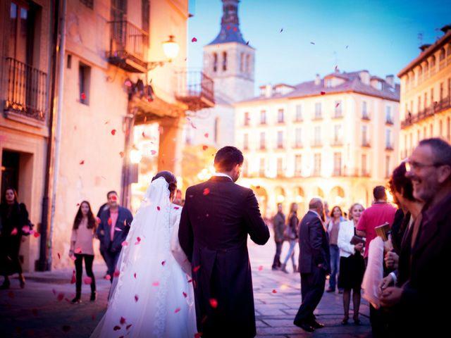 La boda de Eduardo y Claire en Segovia, Segovia 54
