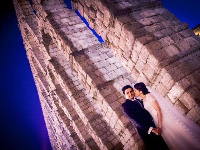 La boda de Eduardo y Claire en Segovia, Segovia 59
