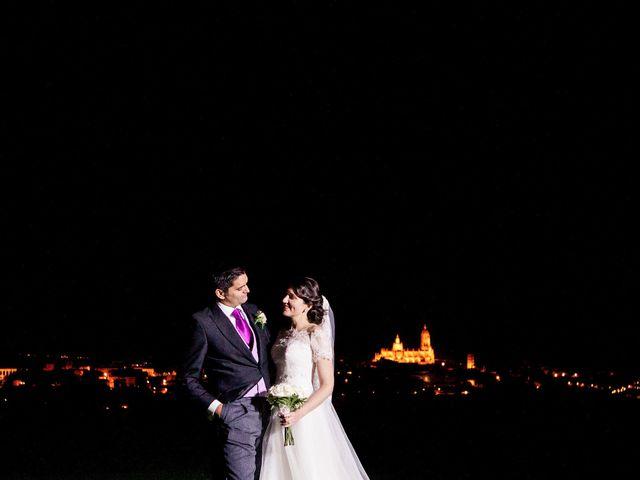 La boda de Eduardo y Claire en Segovia, Segovia 73