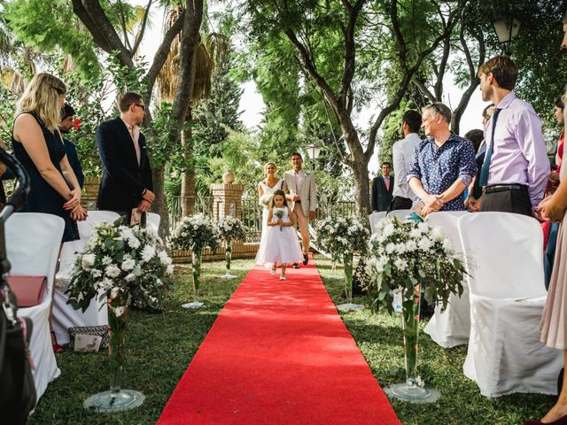 La boda de Jacobo y Fleur en Sanlucar La Mayor, Sevilla 10