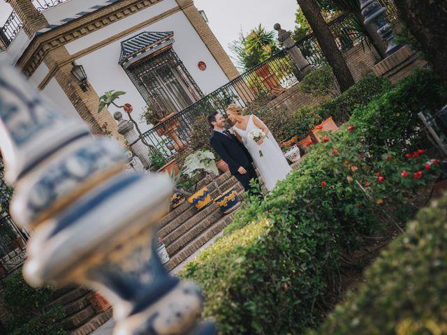 La boda de Jacobo y Fleur en Sanlucar La Mayor, Sevilla 61